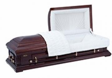 Импортные полированные гробы