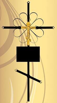 Крест металл стандарт