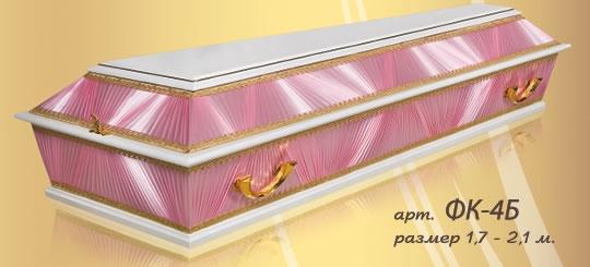 Полированный гроб 10